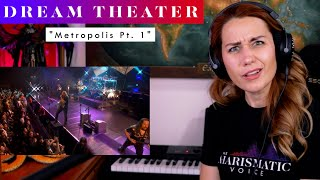 """Download Dream Theater """"Metropolis pt. 1"""" REACTION & ANALYSIS by Vocal Coach / Opera Singer"""