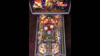 Evel Knievel Pinball Gameplay