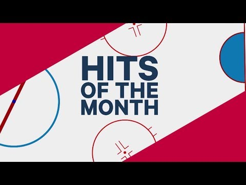 February's Hits of the Month: McDavid collides with teammate