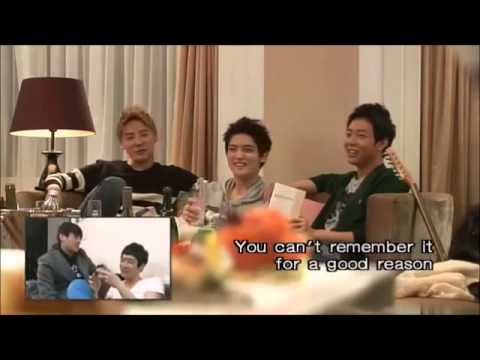 Download JYJ's own reaction video to their Come on Over dvd (Eng)