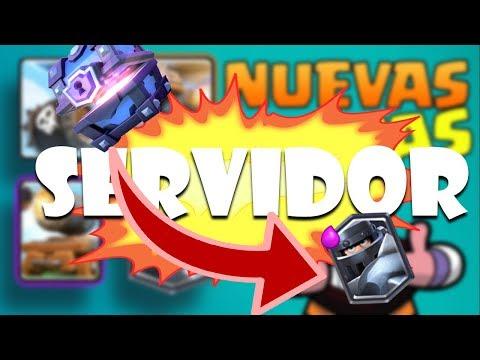 SERVIDOR PRIVADO DE CLASH ROYALE CON EL MEGACABALLERO!!!