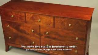Double Dresser Handmade By Doucette And Wolfe Furniture Makers