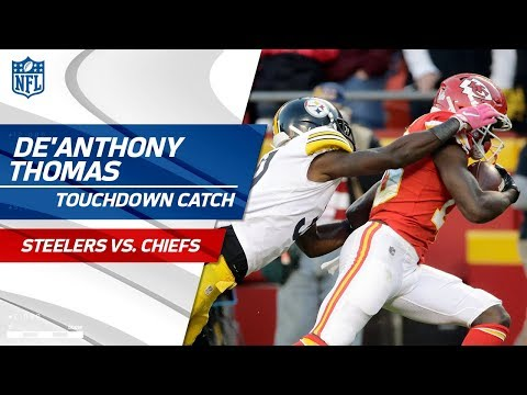 De'Anthony Thomas' End Zone Flip for 57-Yd TD from Alex Smith! | Steelers vs. Chiefs | NFL Wk 6