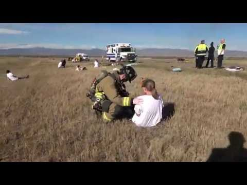 2016 Triennial Full Scale Fire Exercise With Live Burn - 4K Version