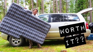 Air Mattress Pros and Cons for Car Camping (+ Luno Life Signature Air Mattress Review)