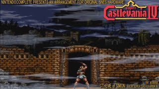 ♫THEME of SIMON (Super Castlevania IV) SNES Arrangement - NintendoComplete