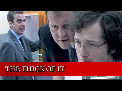 IT'S A LOCKDOWN! | The Thick Of It | BBC Comedy Greats