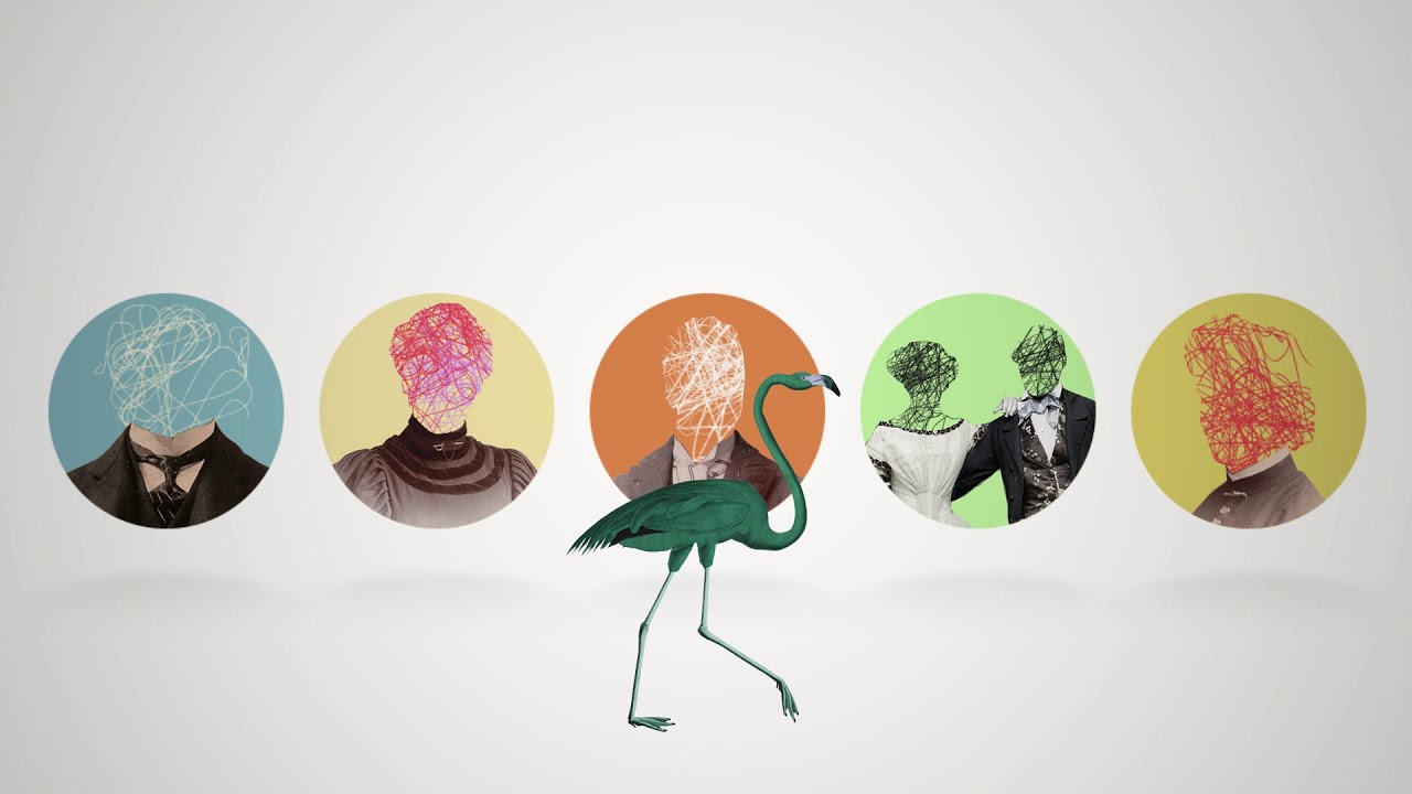The Green Flamingos - Will You Be My Friend ? (Official Video Clip)