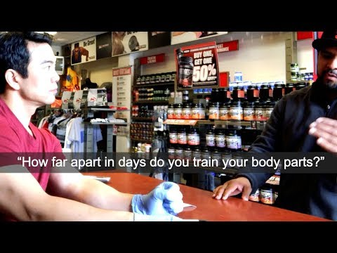 HOW MANY DAYS APART DO YOU TRAIN THE SAME BODY PART?