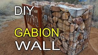 Diy Gabion Walls
