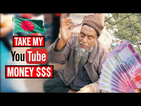 I flew to Bangladesh to give back my Youtube money!