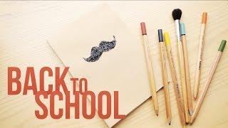 Back to school: блокнот - хипстер =)