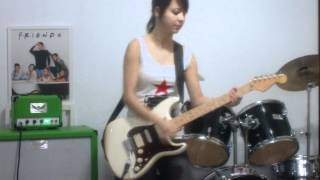 juliana vieira back in black ac dc cover solo