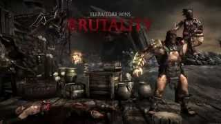 Video Mortal Kombat X - Brutality Combo with Every Kharacter download MP3, 3GP, MP4, WEBM, AVI, FLV Februari 2018