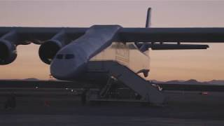 Scenes from Stratolaunch's first flight