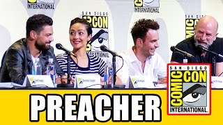 PREACHER Comic Con 2016 Panel Highlights (Part 1) - Dominic Cooper, Ruth Negga, Joseph Gilgun