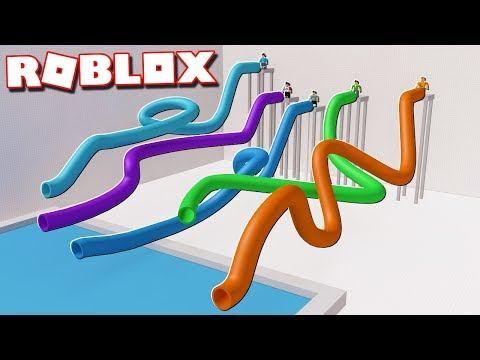 Roblox Adventures - PIPE SLIDE RACE TOURNAMENT! (Ride Down a Pipe)