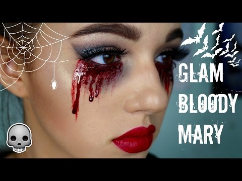 GLAM BLOODY MARY HALLOWEEN TUTORIAL | JordanByers.com
