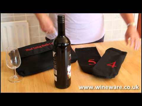 Blind Wine Tasting Bottle Covers And Sleeves Numbered 1