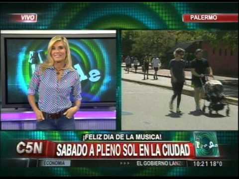 C5N - SOCIEDAD: MAÑANA DE EJERCICIO EN LOS BOSQUES DE PALERMO