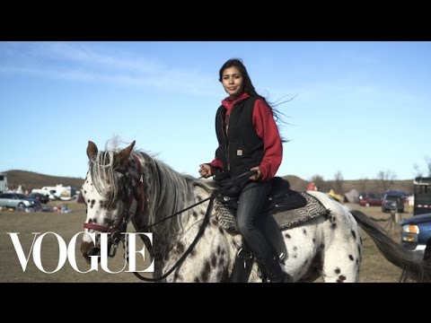Thumbnail: Stories From Standing Rock | Vogue