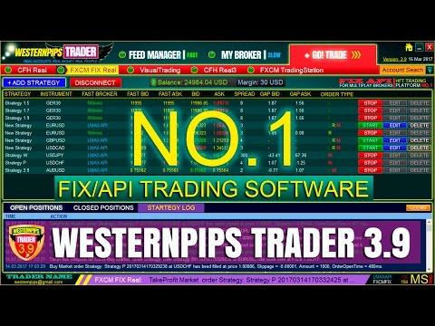 Высокочастотный трейдинг: FIX API арбитраж форекс трейдинг Westernpips Trader 3.9