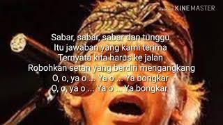 Lirik lagu -iwan fals-bongkar-