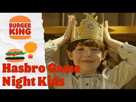 Burger King® – Hasbro Game Night Kids