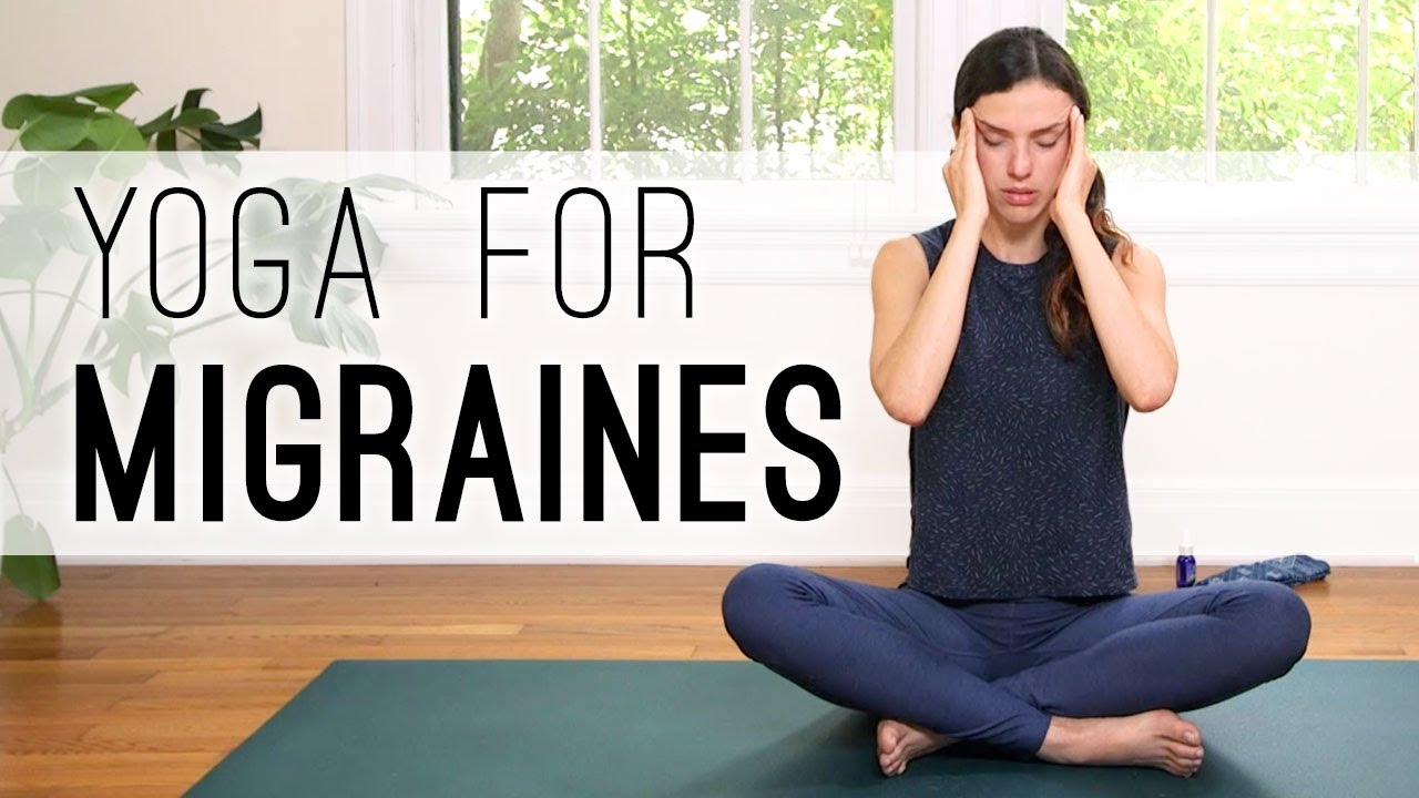 Yoga For Migraines Yoga With Adriene Youtube