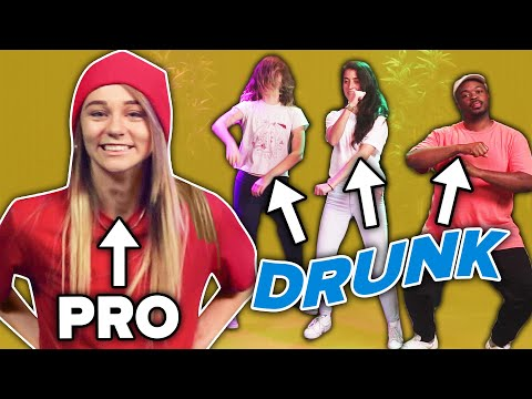 Professional Dancer Teaches Drunk People Dance Moves