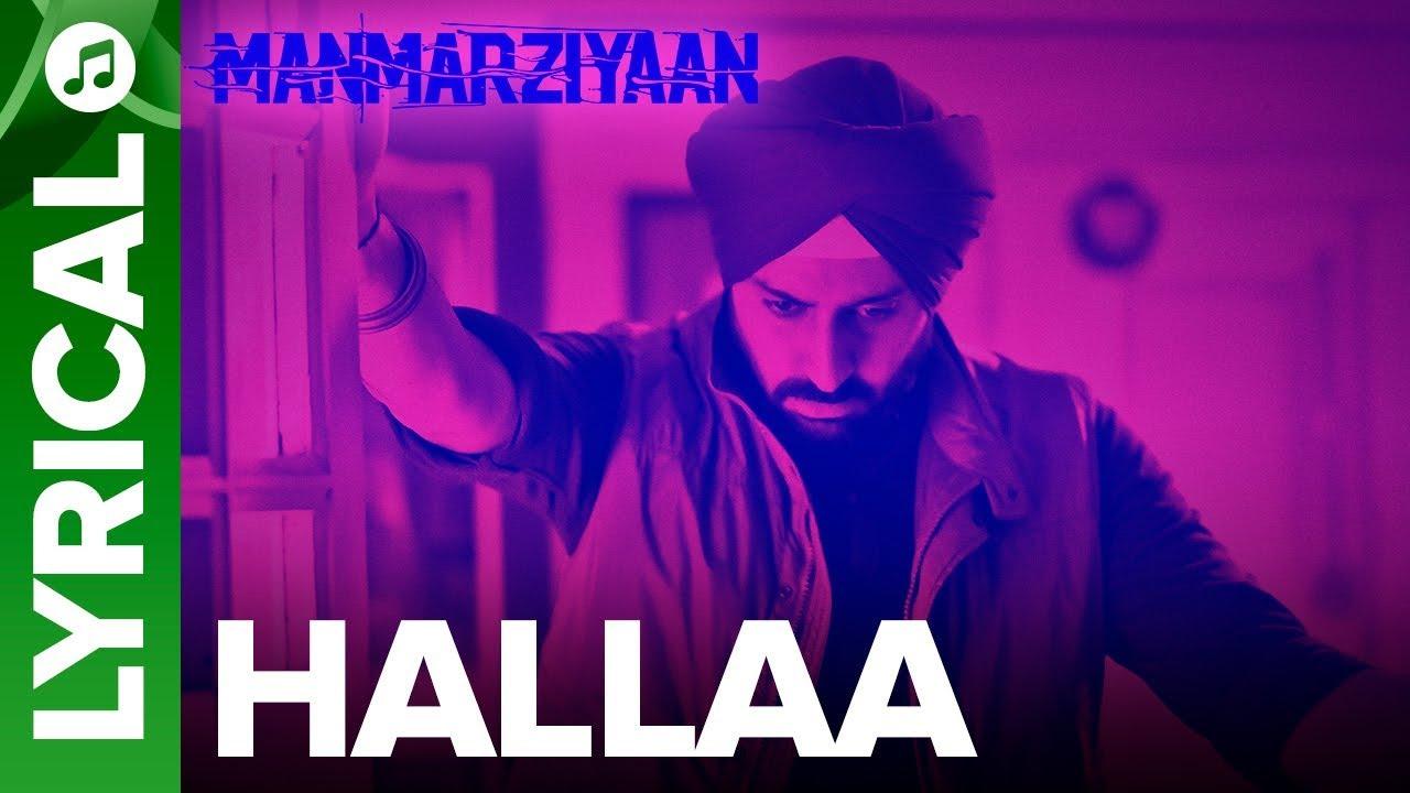 Download Hallaa | Lyrical Audio Song | Manmarziyaan | Amit Trivedi, Shellee | Abhishek, Taapsee, Vicky