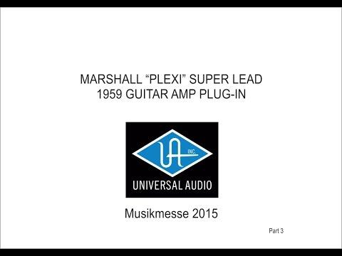 UAD - Marshall Plexi Amp Plugin by Softube