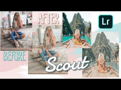FREE Lightroom Mobile Preset - Vintage - Scout