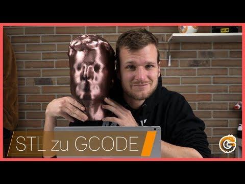 Von der Idee zum 3D Druck: STL zu GCODE 🖨️ // Inkl. Cura Basics [Deutsch, German]