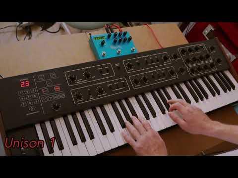 Prophet 600: 19 homemade sounds (With Strymon Big Sky)