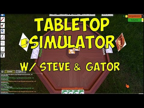 Tabletop Simulator! w/ PokeaimMD, Gator & steve! #1