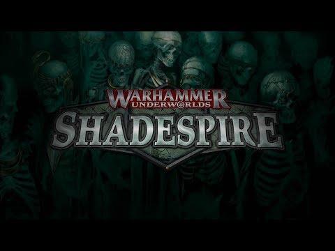 Warhammer Underworlds Shadespire - Battle Report - Khorne vs Stormcast - Best of 3 - Game 2