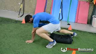 Strenght & Conditioning Sand Bag Killer Workout 1 Fitness Bootcamp