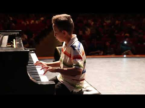 10 year old Daniel plays Happy Together piano solo NCM Music Festival 2018