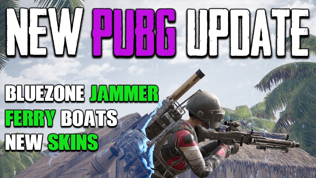 NEW PUBG UPDATE 8.3 REVIEW | BLUEZONE BACKPACK | FERRY BOATS & MORE