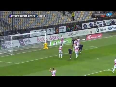NK Maribor vs Zrinjski Goal by Viler