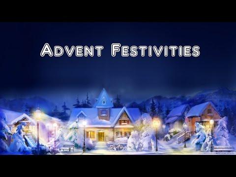 Advent Festivities | Minecraft Christmas | Christmas Eve!