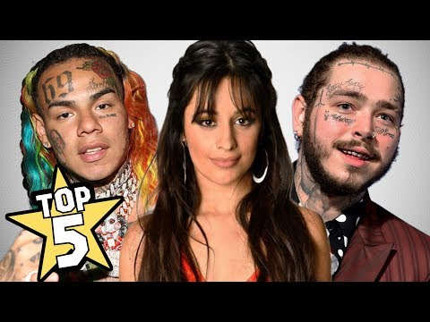 TOP 5 BEST SONGS OF 2018 IN ENGLISH | Post Malone, Tekashi 6ix9ine, Camila Cabello