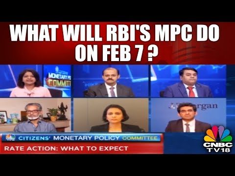 What Will RBI's MPC Do on Feb 7? || Budget 2018 || Monetary Policy Outlook || CNBC TV18