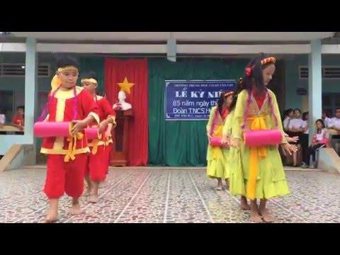 THANHQUANG1180-TRƯỜNG THCS TÂN LỢI-VĂN NGHỆ CHÀO MỪNG NGÀY 26-3-2016,