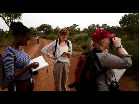 Bangor University and University of Ghana joint module in conservation science