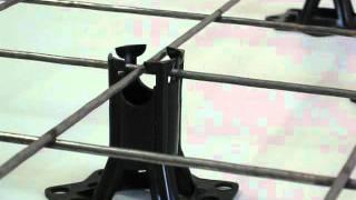 Фиксатор настил (фиксатор арматуры) размер 55-65 мм(Группа компаний SANPOL представляет фиксатор защитного слоя под арматуру. В главной роли фиксатор настил..., 2011-11-06T18:13:14.000Z)