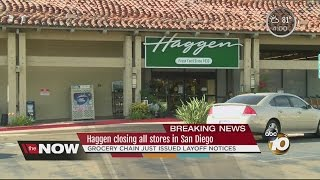 Haggen to close all of its California stores