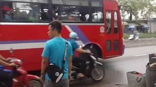 Tai nạn kinh hoàng thảm khốc thương tâm trên đường Trần Văn Giàu, xã Phạm Văn Hai, Bình Chánh