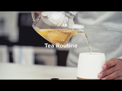 Tea Routine  The Coffee Alternative